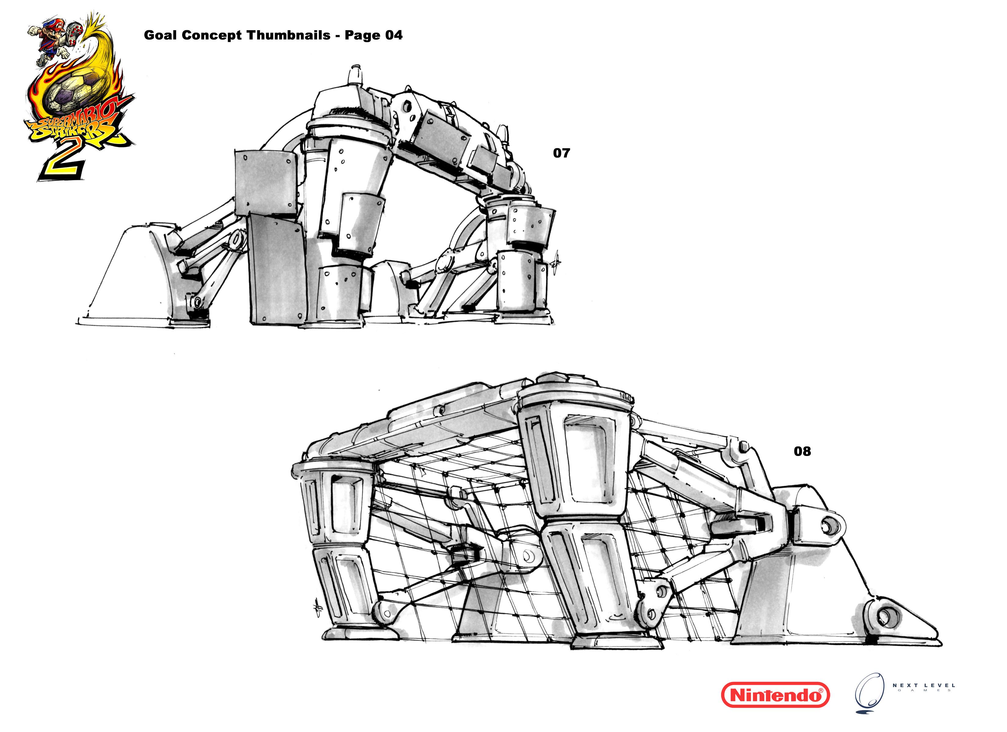 Super Mario Strikers 2 Beta Concept