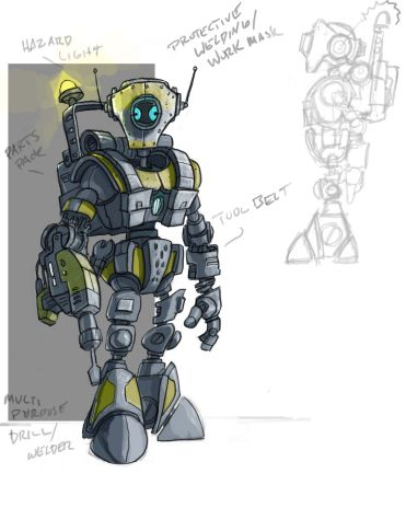 Metal-Arms-2-Cancelled-droid-engineer