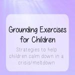 Grounding exercises