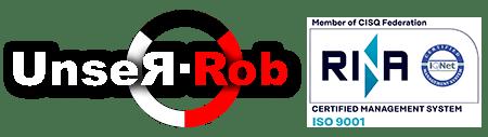 UNSERROB LOGO ISO 9001