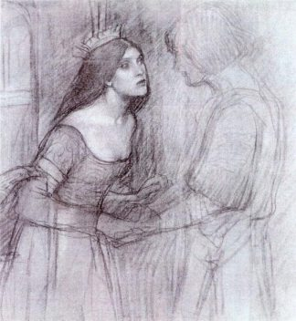 A_Female_Study_-_John_William_Waterhouse