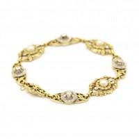 Bracelet en or de la fin XIXe