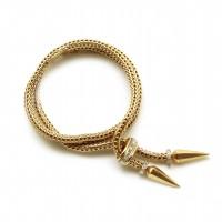 Bracelet Année 40 - Or et diamants