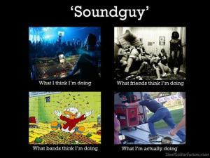 sound guy