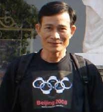 Le journaliste indépendant Nguyen Hoang Hai, plus connu en tant que blogueur Dieu Cay