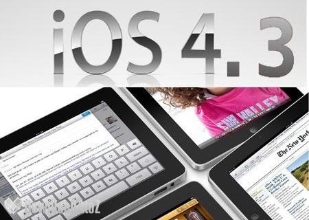 Sortie de l'iOS 4.3 le 9 décembre 2010?