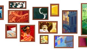 Doodle des fêtes et ses 17 représentations