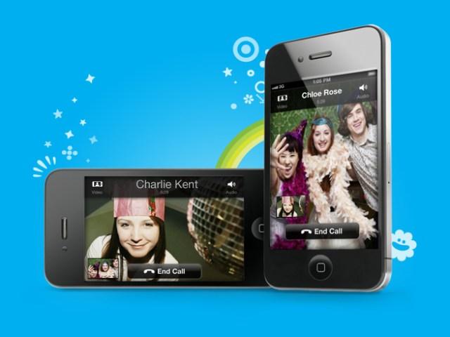 Appels vidéo avec Skype en mode portrait ou paysage
