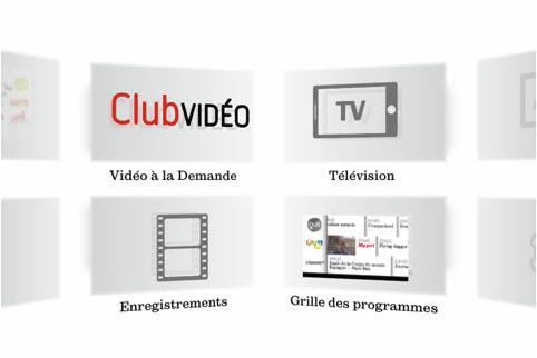 SFR Neufbox TV - Carrousel en 3 dimensions