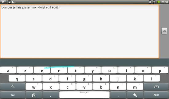 FlexT9 pour Android - Folio100
