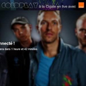 Coldplay : suivez le concert live sur Dailymotion, ce soir, 31 octobre 2011, à partir de 20h45