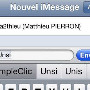 iOS 5 : comment activer le clavier de suggestions de corrections