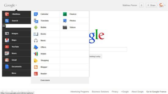 Comment activer la nouvelle barre de navigation Google