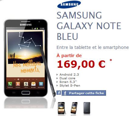NRJMobile : Samsung Galaxy Note