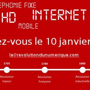 La Révolution du numérique : Numéricâble lance ses invitations