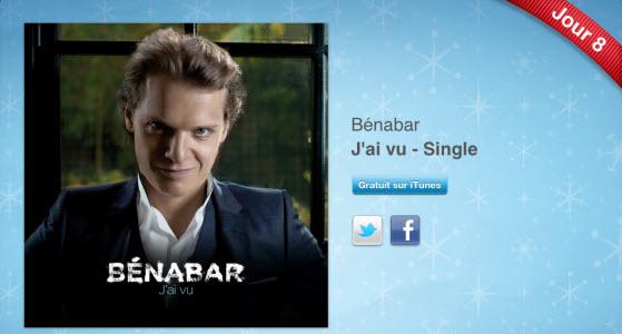 12 jours cadeaux iTunes 2011 – Jour 8 : le single