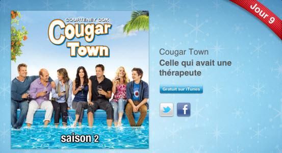 12 jours cadeaux iTunes – Jour 9 : le 1er épisode de la saison 2 de « Cougar Town »