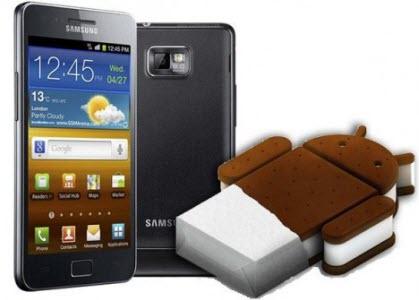Android 4.0 Ice Cream Sandwich : pas avant fin mars pour les Galaxy S2 et Note