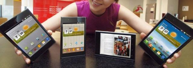 LG Optimus Vu, le Galaxy Note de chez LG