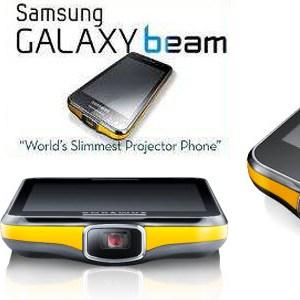 #MWC2012 - Samsung GALAXY Beam, un smartphone avec projecteur