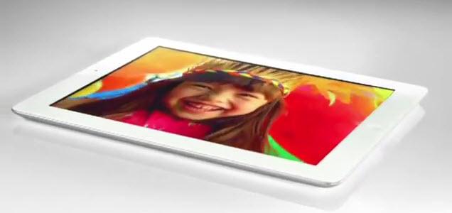 La 1ère pub TV de l'iPad 3