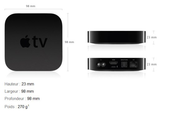 dimensions apple tv
