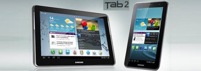 La sortie des Galaxy Tab 2 repoussée