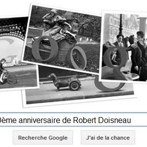 Google fête le 100ème anniversaire de Robert Doisneau