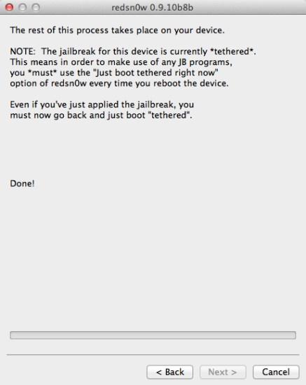 redsn0w jailbreak iOS 5.1.1 - 9