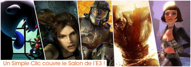 E3 2012 - UnSimpleClic couvre le Salon de l'E3 !