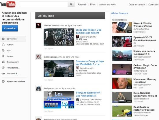 Youtube : tester dès maintenant sa nouvelle interface