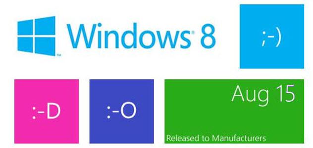 Windows 8 RTM est disponible au téléchargement en français et pour tous!