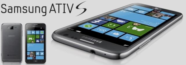 #IFA2012 - Samsung présente l'ATIV S, un smartphone sous Windows Phone 8