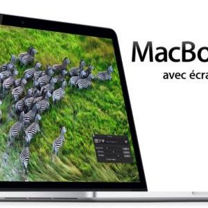 Un MacBook Pro Retina 13 pouces lors de la Keynote Apple du 23 octobre?