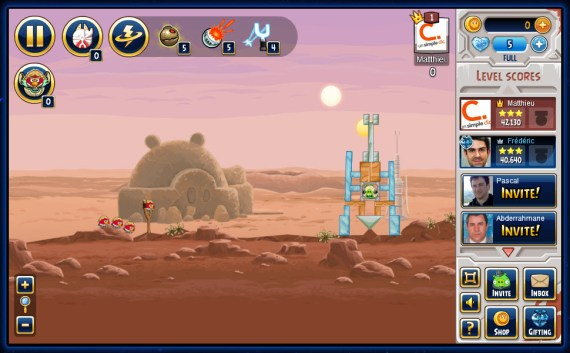 Angry Birds Star Wars débarque maintenant sur Facebook