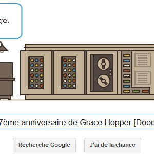 Google fête le 107ème anniversaire de Grace Hopper