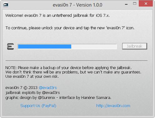 #Jailbreak #Untethered des iOS 7 et 7.x : le pas à pas avec l'outil #evasi0n