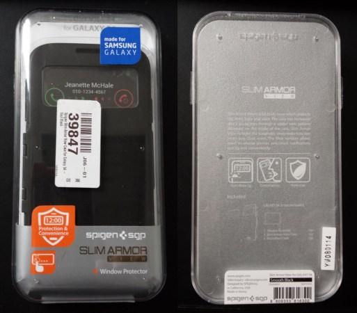 Test de la housse Spigen Slim Armor View pour Samsung Galaxy S4