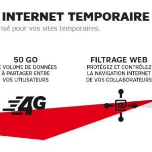 SFR lance 4G Connect, un accès internet via le réseau 4G