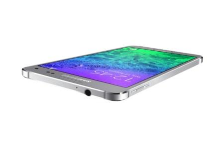 Samsung Galaxy Alpha Argent 09