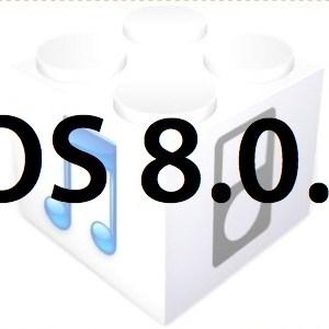 L'iOS 8.0.2 est disponible au télécharment! [liens directs]