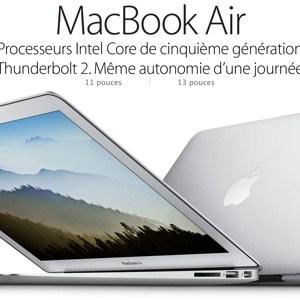 Retour sur les nouveaux MacBook Air version 2015