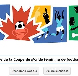 Google fête la finale de la Coupe du Monde féminine de football 2015 [Doodle]