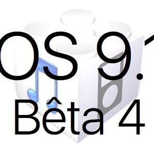 iOS 9.1 bêta 4 est disponible pour les développeurs