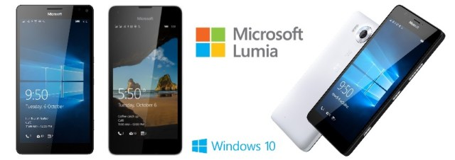 Microsoft présente les Lumia 950 et Lumia 950 XL, et le Lumia 550