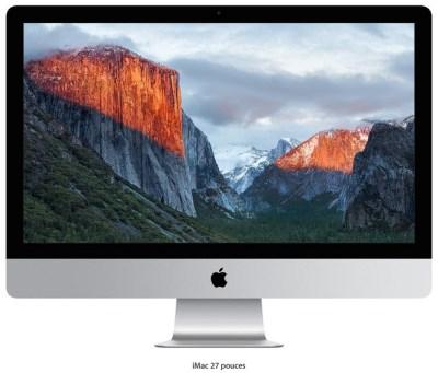 Apple lance son nouvel iMac 21,5 pouces 4K et renouvelle la gamme des iMac 5K