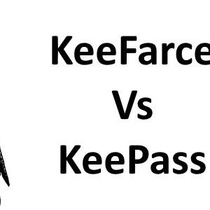 KeeFarce perce le coffre-fort de mots de passe KeePass