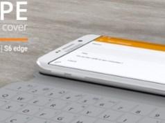 #CES2016 - SlimType : l'étui / clavier pour Samsung Galaxy S6 victime de son succès ?