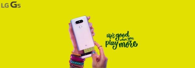 #MWC2016 - LG dévoile le LG G5, son premier smartphone modulaire