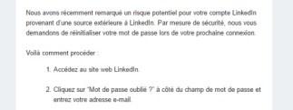 Piratage des serveurs LinkedIn : pensez à changer votre mot de passe !